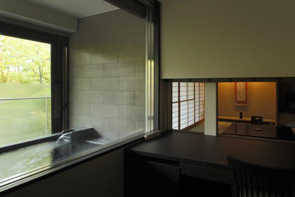 客室展望風呂 【さぎそう/かたくり】