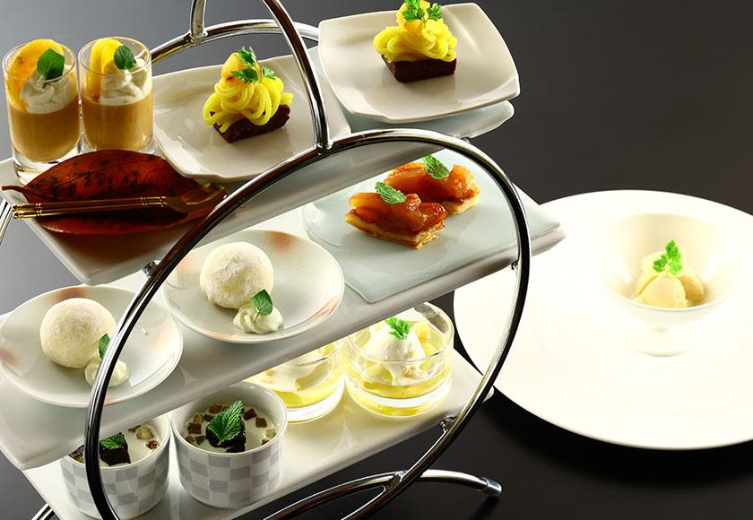【秋のお献立】水菓子 神奈川県産梨のアイスクリーム きたの風茶寮デザートアミューズ