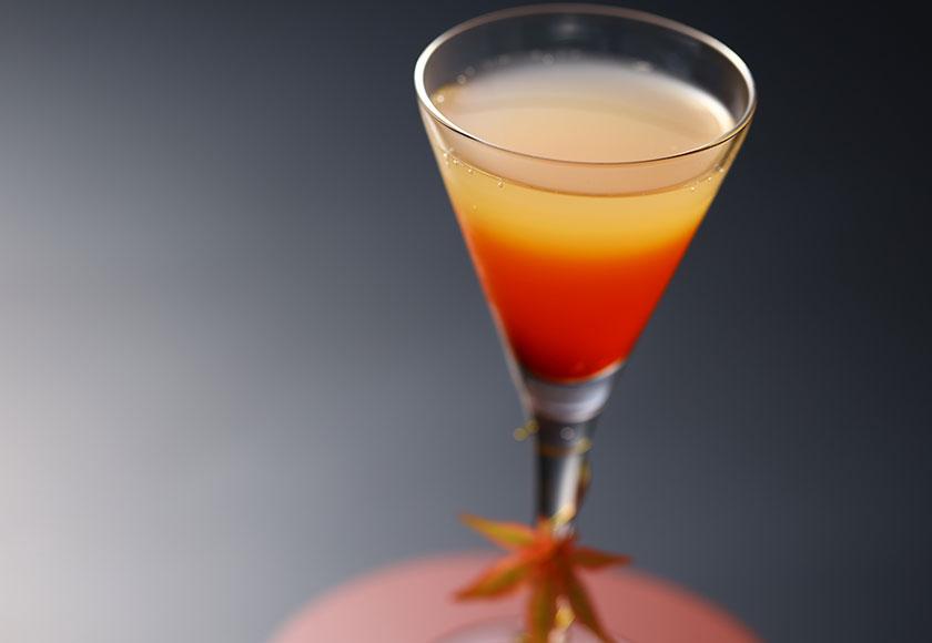 【秋のお献立】食前酒